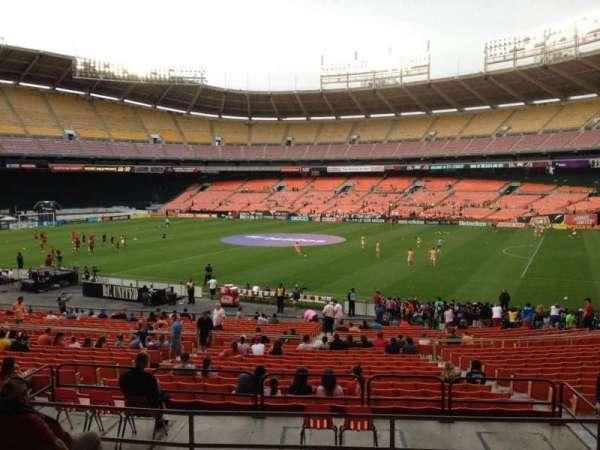 RFK Stadium, secção: 303, fila: 7, lugar: 9