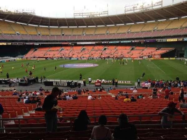RFK Stadium, secção: 304, fila: 7, lugar: 12
