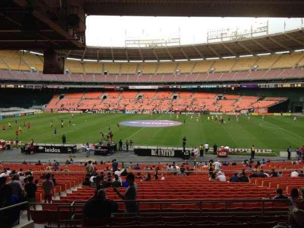 RFK Stadium, secção: 305, fila: 9, lugar: 10