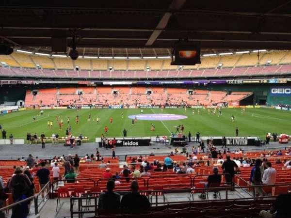 RFK Stadium, secção: 307, fila: 9, lugar: 10