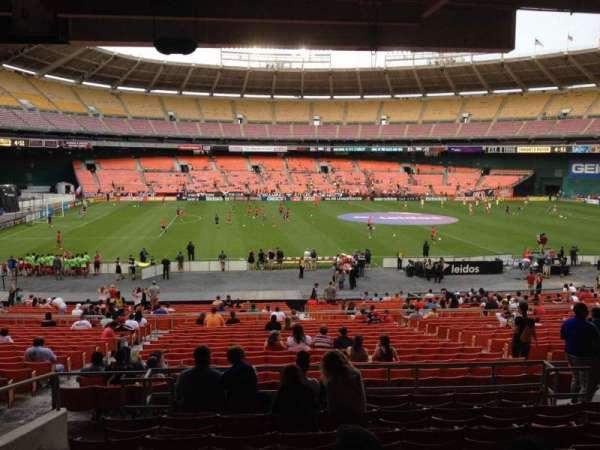 RFK Stadium, secção: 309, fila: 9, lugar: 8