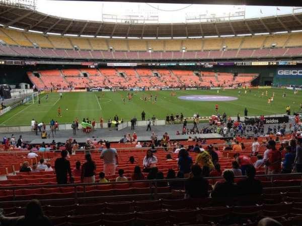 RFK Stadium, secção: 310, fila: 8, lugar: 9