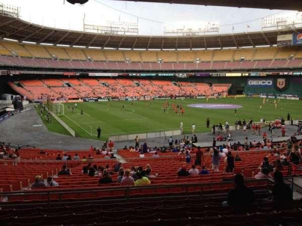 RFK Stadium, secção: 312, fila: 9, lugar: 10