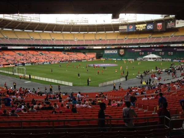 RFK Stadium, secção: 314, fila: 8, lugar: 8