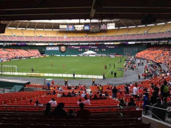 RFK Stadium, secção: 317, fila: 9, lugar: 12