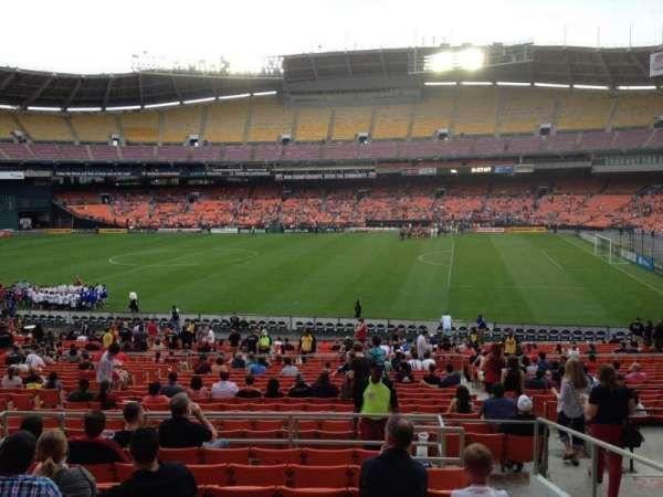 RFK Stadium, secção: 330, fila: 9, lugar: 9