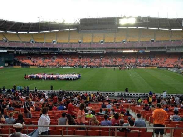 RFK Stadium, secção: 331, fila: 7, lugar: 8