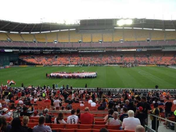 RFK Stadium, secção: 332, fila: 11, lugar: 10
