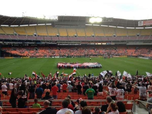 RFK Stadium, secção: 334, fila: 9, lugar: 11