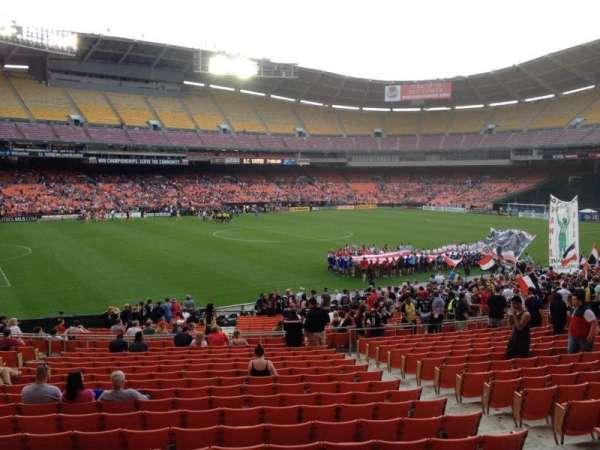 RFK Stadium, secção: 337, fila: 3, lugar: 7