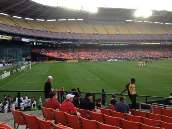RFK Stadium, secção: 237, fila: 8, lugar: 8