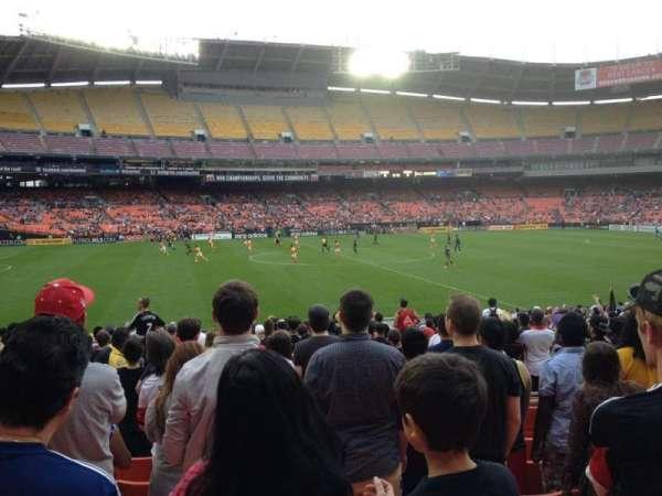 RFK Stadium, secção: 235, fila: 8, lugar: 11
