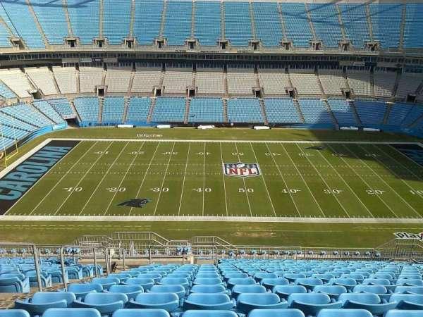 Bank of America Stadium, secção: 542, fila: 17, lugar: 21