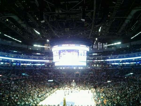 Staples Center, secção: 207, fila: 11, lugar: 12
