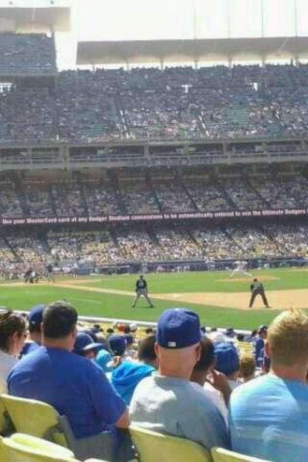 Dodger Stadium, secção: 40FD, fila: M, lugar: 7