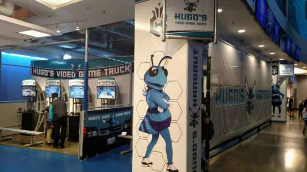 Spectrum Center, secção: Hugos Hangout 200 Level