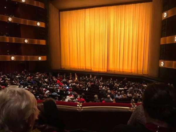 David H. Koch Theater, secção: 1st Ring, fila: C, lugar: 12