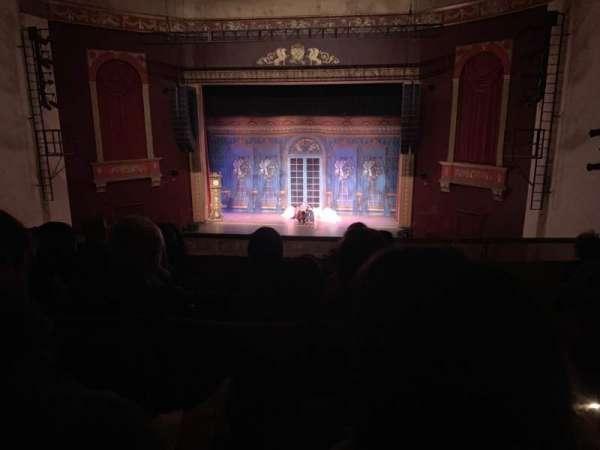 Bergen Performing Arts Center, secção: Mezzanine C, fila: E, lugar: 109