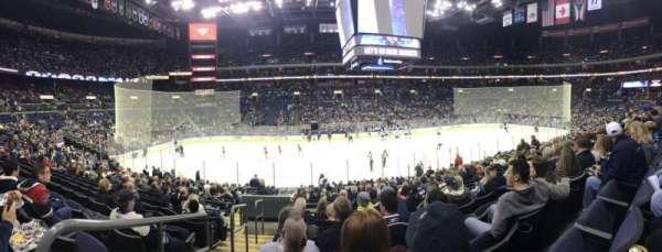 Nationwide Arena, secção: 115, fila: U, lugar: 19