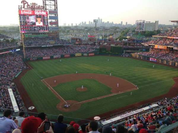 Citizens Bank Park, secção: 419, fila: 7, lugar: 7