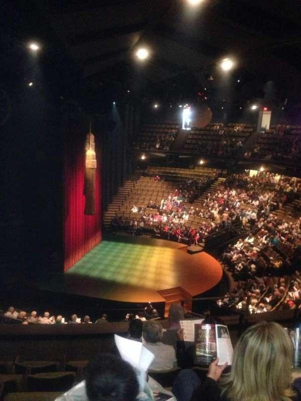 Stratford Festival, secção: Balcony aisle 2, fila: F, lugar: 166