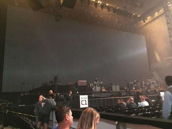 Nassau Veterans Memorial Coliseum, secção: 19, fila: 1, lugar: 1