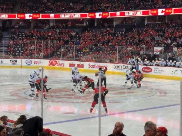 Scotiabank Saddledome, secção: 122, fila: 9, lugar: 10