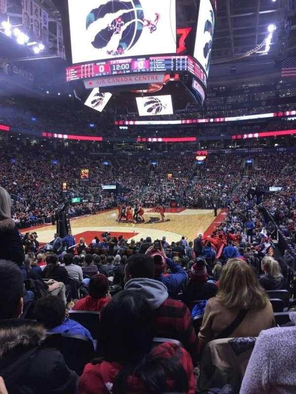 Scotiabank Arena, secção: 101, fila: 11, lugar: 12