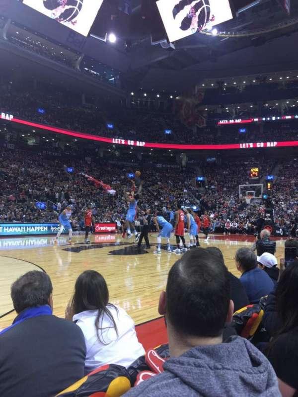 Scotiabank Arena, secção: Crts, fila: C, lugar: 57