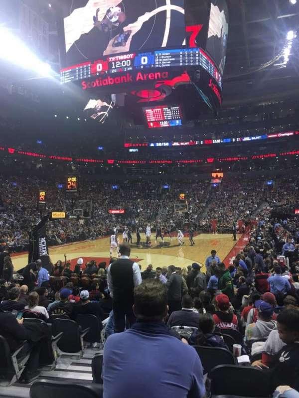 Scotiabank Arena, secção: 101, fila: 5, lugar: 9