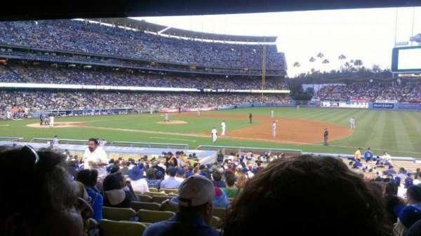 Dodger Stadium, secção: 26FD, fila: W, lugar: 5