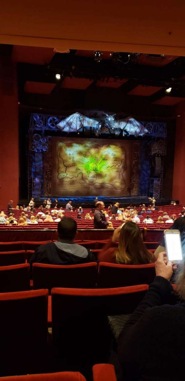 San Diego Civic Theatre, secção: DRESL4, fila: G, lugar: 37