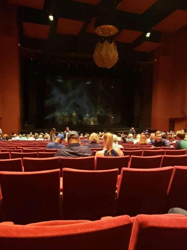 San Diego Civic Theatre, secção: ORCHL3, fila: V, lugar: 33
