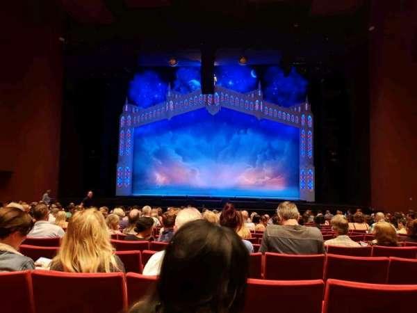 San Diego Civic Theatre, secção: Orchestra, fila: O, lugar: 10