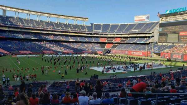 San Diego Stadium, secção: P31, fila: 15, lugar: 7