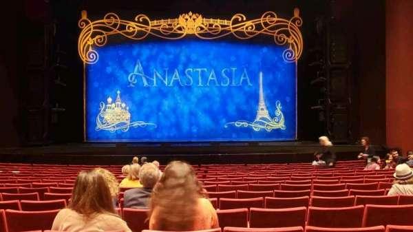 San Diego Civic Theatre, secção: Orchestra, fila: O, lugar: 6