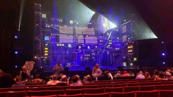 San Diego Civic Theatre, secção: OrchL, fila: G, lugar: 21