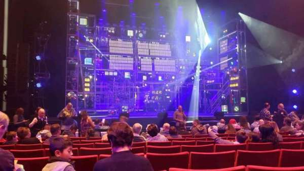 San Diego Civic Theatre, secção: OrchL, fila: G, lugar: 23