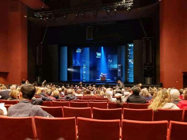 San Diego Civic Theatre, secção: Orchestra, fila: O, lugar: 24