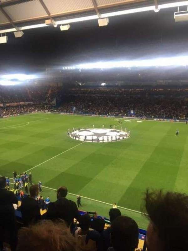 Stamford Bridge, secção: East Stand Upper, fila: 5, lugar: 40
