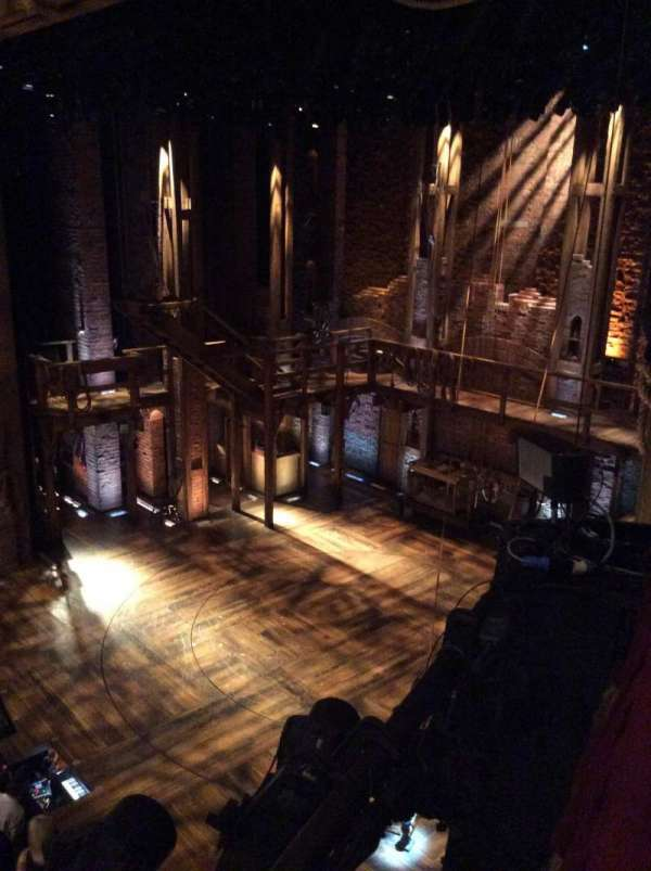 CIBC Theatre, secção: Mezzanine Box 6, fila: B, lugar: 6