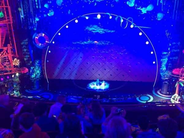 Palace Theatre (Broadway), secção: Mezz center, fila: D, lugar: 108