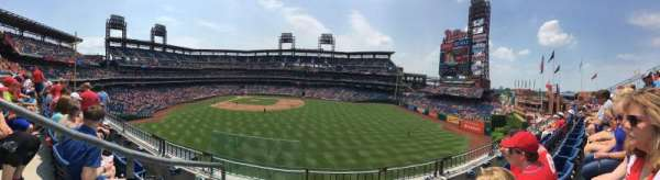 Citizens Bank Park, secção: 201, fila: 3, lugar: 24