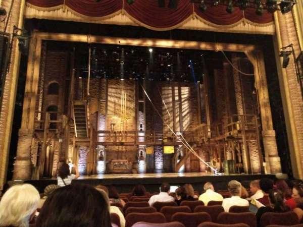 Forrest Theatre, secção: Orchestra C, fila: L, lugar: 112