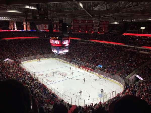 PNC Arena, secção: 318, fila: F, lugar: 9