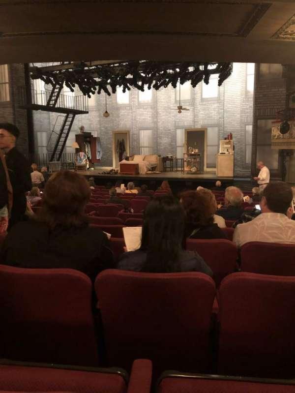 Broadhurst Theatre, secção: Orchestra, fila: P, lugar: 12
