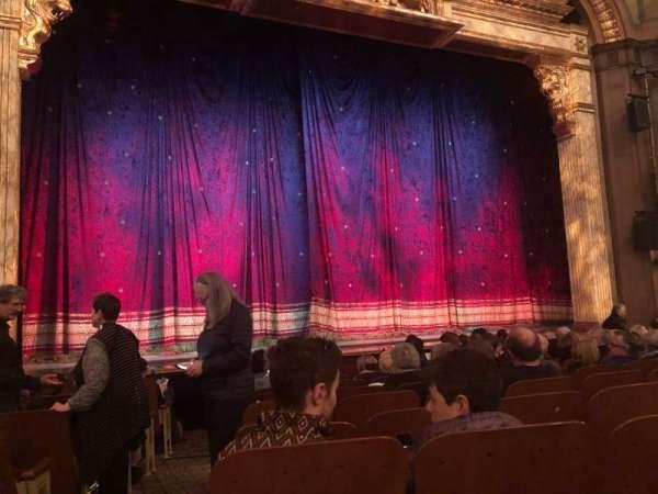 Booth Theatre, secção: Orchestra C, fila: H, lugar: 101