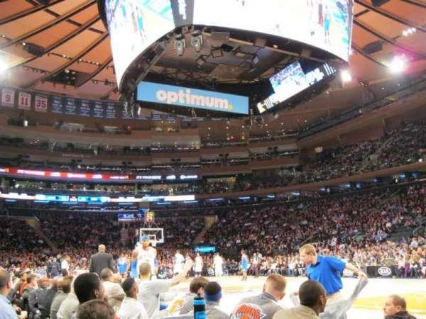 Madison Square Garden, secção: 7, fila: 1, lugar: 3