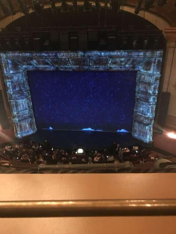 St. James Theatre, secção: Balcony C, fila: A, lugar: 103