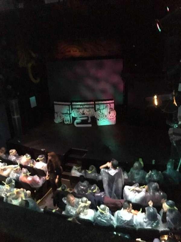Astor Place Theatre, secção: Mezz, fila: A